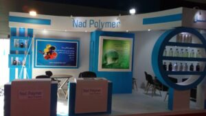 Nad Polymer and Mashhad International Paint and Resin Exhibition 98