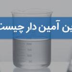 رزین های آمین دار چه نوع رزین هایی هستند و کاربرد آنها چیست؟