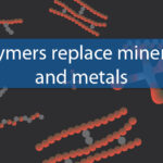 Polymers replace minerals and metals